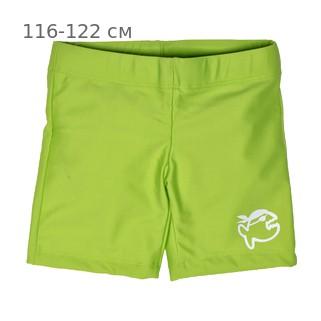 Шорты плавательные детские IQ-UV Jolly children, рост - 116-122 см, возраст - 6-7 лет, цвет - салатовый (зеленый)