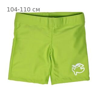 Шорты плавательные детские IQ-UV Jolly children, рост - 104-110 см, возраст - 4-5 лет, цвет - салатовый (зеленый)