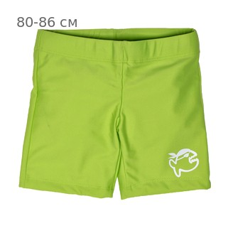 Шорты плавательные детские IQ-UV Jolly children, рост - 80-86 см, возраст - 1-1,5 года, цвет - салатовый (зеленый)