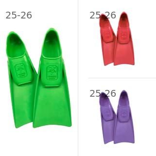 Купить комплект Ласты детские для бассейна Propercarry Super Elastic, размер - 25-26, цвет - зелёный, 100% натуральный каучук + Ласты детские для бассейна Propercarry + Ласты детские для бассейна Propercarry