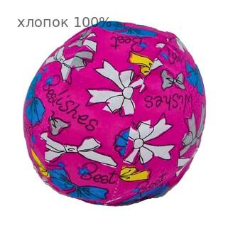 Шапочка для плавания грудничковая ЧудоТрусики РОЗОВЫЙ БАНТ, материал - хлопок 100%, цвет - розовый