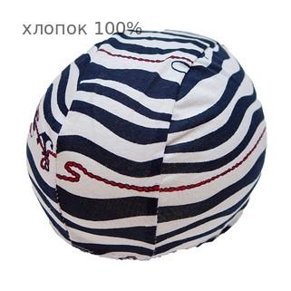 Шапочка для плавания грудничковая ЧудоТрусики ЯКОРЯ, материал - хлопок 100%, цвет - синий (темный)