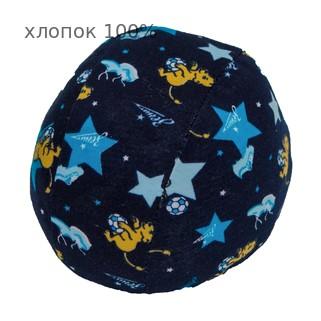 Шапочка для плавания грудничковая ЧудоТрусики ЛЬВЯТА В ЗЕНИТЕ, материал - хлопок 100%, цвет - синий