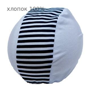 Шапочка для плавания грудничковая ЧудоТрусики ВЕЛИКОЛЕПНАЯ ЗЕБРА В БЕЛОМ, материал - хлопок 100%, цвет - белый