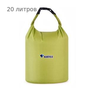 Герметичная сумка-мешок Bluefield водонепроницаемая, объём - 20 литров, цвет - жёлтый