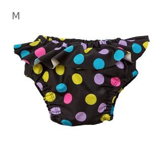 Многоразовые трусики-подгузники ЧудоТрусики С ЮБОЧКОЙ КРУГИ НА ЧЕРНОМ Бифлекс, размер - M, возраст - с 4 месяцев до 1 года, хлопок 100%, цвет - чёрный