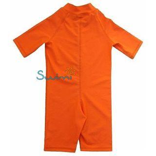 УФ-защитный детский гидрокостюм IQ-UV Shorty Jolly Fish, рост - 104-110 см, возраст - 4-5 лет, оранжевый, рис. 2 - Swimi - интернет магазин