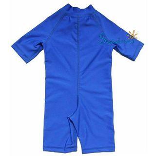 УФ-защитный детский гидрокостюм IQ-UV Shorty Jolly Fish, рост - 80-86 см, возраст - 1-1,5 года, синий, рис. 2 - Swimi - интернет магазин