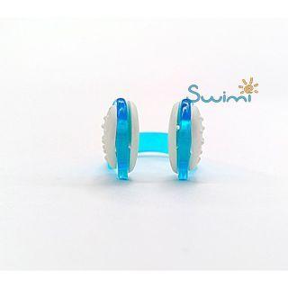 Клписа зажим для носа детский для плавания, цвет - синий, рис. 5 - Swimi - интернет магазин