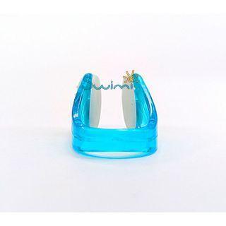 Клписа зажим для носа детский для плавания, цвет - синий, рис. 2 - Swimi - интернет магазин