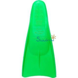 Ласты детские для бассейна Propercarry Elastic, размер - 31-32, цвет - зелёный, 100% натуральный каучук, рис. 2 - Swimi - интернет магазин