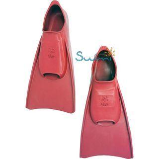 Ласты детские для бассейна Propercarry Elastic, размер - 31-32, цвет - красный, 100% натуральный каучук, рис. 6 - Swimi - интернет магазин