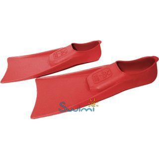 Ласты детские для бассейна Propercarry Super Elastic, размер - 25-26, цвет - красный, 100% натуральный каучук, рис. 5 - Swimi - интернет магазин