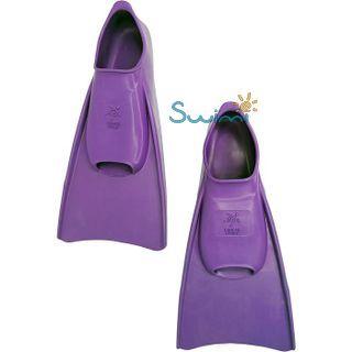 Ласты детские для бассейна Propercarry Elastic, размер - 31-32, цвет - фиолетовый, 100% натуральный каучук, рис. 6 - Swimi - интернет магазин