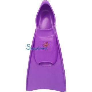 Ласты детские для бассейна Propercarry Elastic, размер - 31-32, цвет - фиолетовый, 100% натуральный каучук, рис. 3 - Swimi - интернет магазин