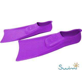 Ласты детские для бассейна Propercarry Elastic, размер - 27-28, цвет - фиолетовый, 100% натуральный каучук, рис. 5 - Swimi - интернет магазин