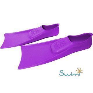 Ласты детские для бассейна Propercarry Super Elastic, размер - 25-26, цвет - фиолетовый, 100% натуральный каучук, рис. 5 - Swimi - интернет магазин