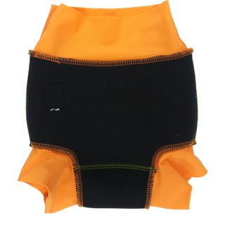 Низ гидрокостюма детский неопреновый Propercarry с нейлоновым покрытием, 1-1,5 года, размер - L, 74-80 см, вес ребенка - от 10 до 12 кг, принт - Роботы на зеленом - артикул: SN1903-002L, рис. 4 - Swimi - интернет магазин