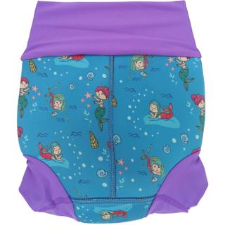 Низ гидрокостюма детский неопреновый Propercarry с нейлоновым покрытием, 1-1,5 года, размер - L, 74-80 см, вес ребенка - от 10 до 12 кг, принт - Русалки на голубом - артикул: SN1903-001L, рис. 2 - Swimi - интернет магазин