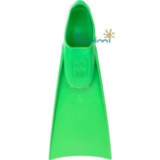 Ласты детские грудничковые Propercarry Super Elastic, размер - 23-24, цвет - зелёный, 100% натуральный каучук, рис. 2 - Swimi - интернет магазин