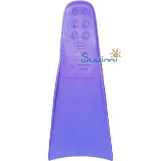 Ласты детские грудничковые Propercarry Super Elastic, размер - 23-24, цвет - фиолетовый, 100% натуральный каучук, рис. 3 - Swimi - интернет магазин