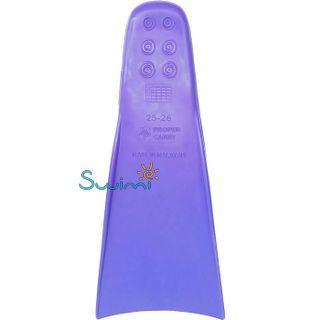 Ласты детские для бассейна Propercarry Super Elastic, размер - 25-26, цвет - фиолетовый, 100% натуральный каучук, рис. 3 - Swimi - интернет магазин
