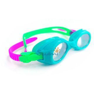 Плавательные очки для малыша Propercarry PREPPY, возраст - 1-3 лет, цвет - голубой (лазурный), цвет стёкол - прозрачный, рис. 2 - Swimi - интернет магазин