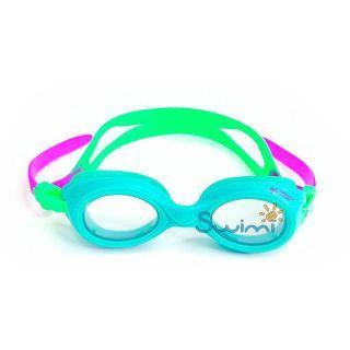 Плавательные очки для малыша Propercarry PREPPY, возраст - 1-3 лет, цвет - голубой (лазурный), цвет стёкол - прозрачный, рис. 3 - Swimi - интернет магазин