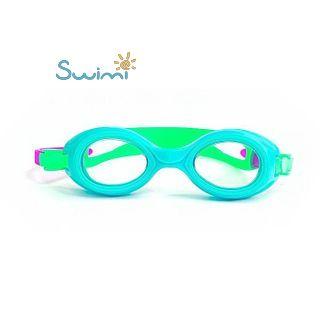 Плавательные очки для малыша Propercarry PREPPY, возраст - 1-3 лет, цвет - голубой (лазурный), цвет стёкол - прозрачный, рис. 4 - Swimi - интернет магазин