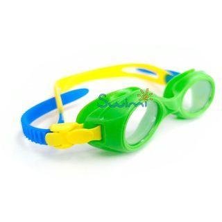 Плавательные очки для малыша Propercarry PREPPY, возраст - 1-3 лет, цвет - салатовый (зеленый), цвет стёкол - прозрачный, рис. 2 - Swimi - интернет магазин