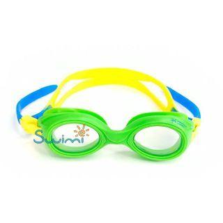 Плавательные очки для малыша Propercarry PREPPY, возраст - 1-3 лет, цвет - салатовый (зеленый), цвет стёкол - прозрачный, рис. 3 - Swimi - интернет магазин