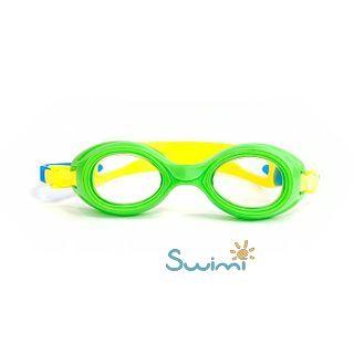 Плавательные очки для малыша Propercarry PREPPY, возраст - 1-3 лет, цвет - салатовый (зеленый), цвет стёкол - прозрачный, рис. 4 - Swimi - интернет магазин