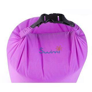 Герметичная сумка-мешок Bluefield водонепроницаемая, объём - 20 литров, цвет - красный, рис. 2 - Swimi - интернет магазин