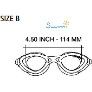 Детские очки для плавания Cressi KING CRAB, возраст - 7-15 лет, цвет - белый, цвет стёкол - прозрачный, Италия, рис. 8 - Swimi - интернет магазин