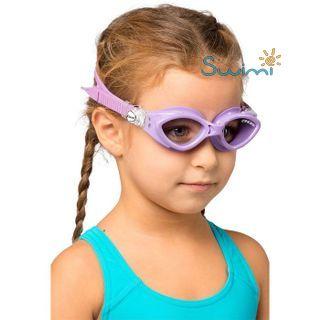 Детские очки для плавания Cressi KING CRAB, возраст - 7-15 лет, цвет - белый, цвет стёкол - прозрачный, Италия, рис. 5 - Swimi - интернет магазин