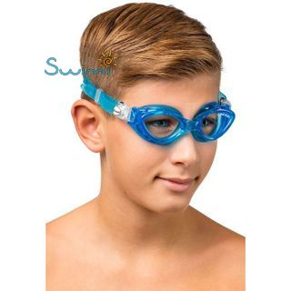 Детские очки для плавания Cressi KING CRAB, возраст - 7-15 лет, цвет - белый, цвет стёкол - прозрачный, Италия, рис. 7 - Swimi - интернет магазин