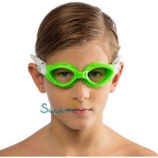 Детские очки для плавания Cressi KING CRAB, возраст - 7-15 лет, цвет - белый, цвет стёкол - прозрачный, Италия, рис. 6 - Swimi - интернет магазин