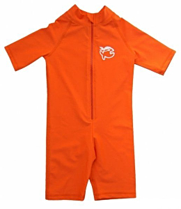 УФ-защитный детский гидрокостюм IQ-UV Shorty Jolly Fish, рост - 104-110 см, возраст - 4-5 лет, оранжевый, рис. 1 - Swimi - интернет магазин