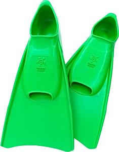 Ласты детские для бассейна Propercarry Elastic, размер - 31-32, цвет - зелёный, 100% натуральный каучук, рис. 1 - Swimi - интернет магазин