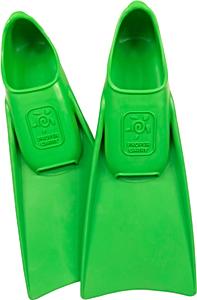 Ласты детские грудничковые Propercarry Super Elastic, размер - 23-24, цвет - зелёный, 100% натуральный каучук, рис. 1 - Swimi - интернет магазин