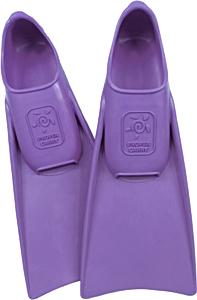 Ласты детские для бассейна Propercarry Super Elastic, размер - 25-26, цвет - фиолетовый, 100% натуральный каучук, рис. 1 - Swimi - интернет магазин