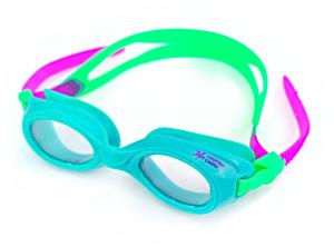 Плавательные очки для малыша Propercarry PREPPY, возраст - 1-3 лет, цвет - голубой (лазурный), цвет стёкол - прозрачный, рис. 1 - Swimi - интернет магазин