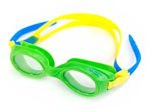 Плавательные очки для малыша Propercarry PREPPY, возраст - 1-3 лет, цвет - салатовый (зеленый), цвет стёкол - прозрачный, рис. 1 - Swimi - интернет магазин