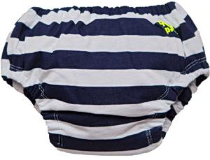 Многоразовые трусики-подгузники ЧудоТрусики МОРСКИЕ, размер - S, возраст - с рождения до 4 месяцев, хлопок 100%, цвет - белый, синий, рис. 1 - Swimi - интернет магазин