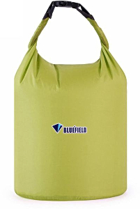 Герметичная сумка-мешок Bluefield водонепроницаемая, объём - 10 литров, цвет - жёлтый, рис. 1 - Swimi - интернет магазин