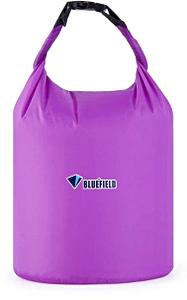 Герметичная сумка-мешок Bluefield водонепроницаемая, объём - 10 литров, цвет - фиолетовый, рис. 1 - Swimi - интернет магазин