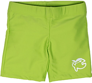 Шорты плавательные детские IQ-UV Jolly children, рост - 116-122 см, возраст - 6-7 лет, цвет - салатовый (зеленый), рис. 1 - Swimi - интернет магазин